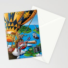 The Balloon Adventure Stationery Cards