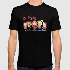 Spice Girls Kids Mens Fitted Tee X-LARGE Black