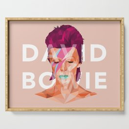 D. Bowie Serving Tray
