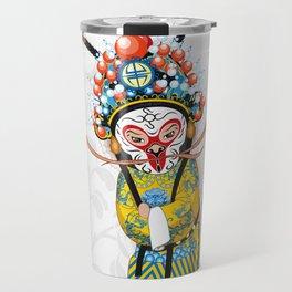 Beijing Opera Character   Monkey King Travel Mug