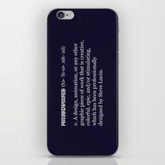 Halucinated Defined iPhone & iPod Skin