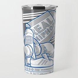 Emergency Hip Hop to the Rescue!  Travel Mug