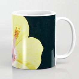 Yellow Hibiscus Coffee Mug