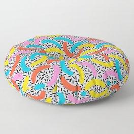 I Love Memphis Patterns Floor Pillow