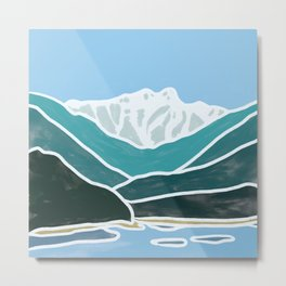 North Shore Lions Mountains Metal Print