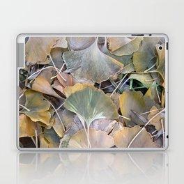 Fall Ginko Leaves Laptop & iPad Skin