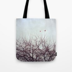 Winter's Breath Tote Bag