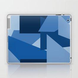 Blu-Geometric Laptop & iPad Skin