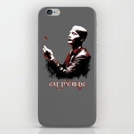 Eat the Rude ( Hannibal ) 2 iPhone Skin