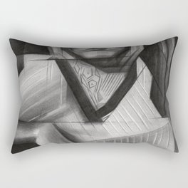 Faye Dunaway Rectangular Pillow
