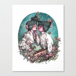 Tender Is The Night Canvas Print