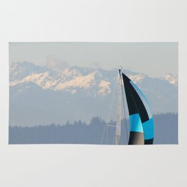 Sailing the Pacific Northwest Rug