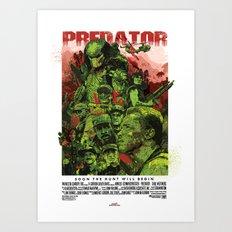 The Predator Art Print