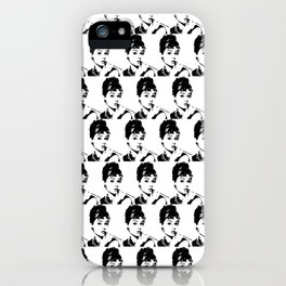 Audrey Hepburn Golightly Girl iPhone Case
