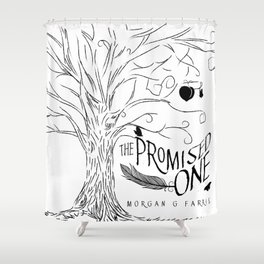 The Promised One (The Chalam Færytales, Book I) Shower Curtain
