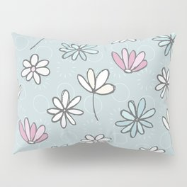 Cute Floral Ditsy Pattern Pillow Sham