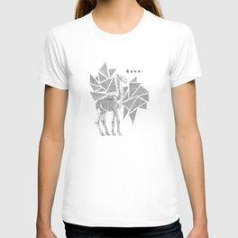 Skeletal Giraffe T-shirt