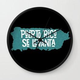 Puerto Rico Se Levanta Wall Clock