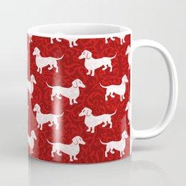 Merry Christmas Dachshunds Coffee Mug