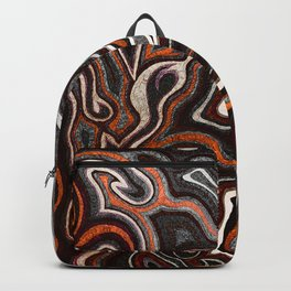 Abstract #1 - I Orange Pop Backpack