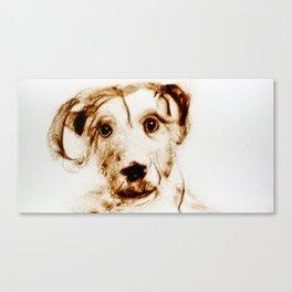 Like a Dog Canvas Print