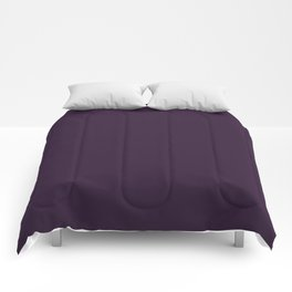 Dark Purple Violet Comforters
