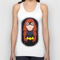 batgirl Tank Tops featuring Batgirl by SoLaNgE-scf