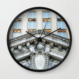 All aboard Detroit Wall Clock