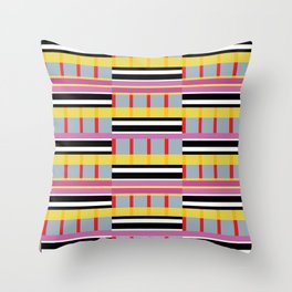 Stripe 5 Throw Pillow