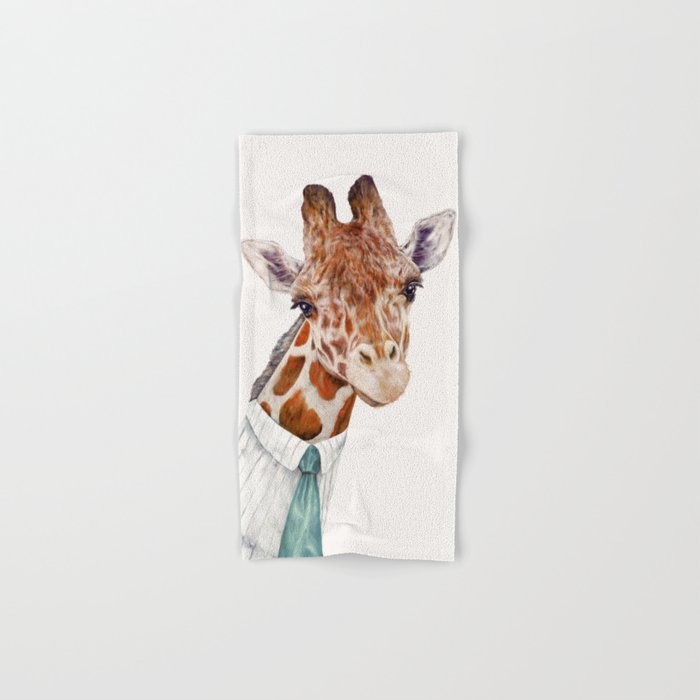 Mr Giraffe Hand & Bath Towel