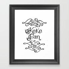 KF Framed Art Print