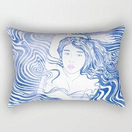Water Nymph XLIV Rectangular Pillow