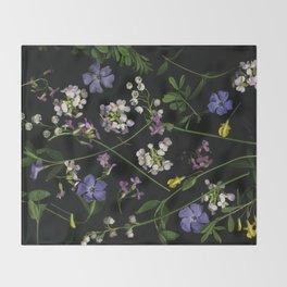 My flowers2 Throw Blanket