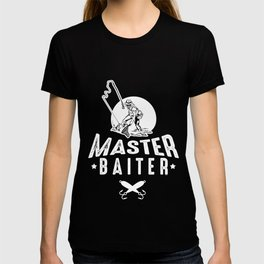 Master Baiter Funny Fishing Fisherman Ocean Sea Fish Lover Gifts T-shirt