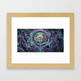 Promethean....Conversations with a god Framed Art Print