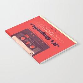 Audio Cassette Notebook
