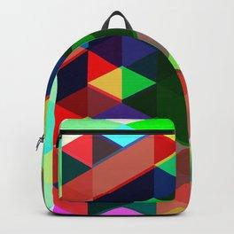 Geometric Shift Backpack
