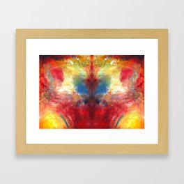 Co-Creation Framed Art Print