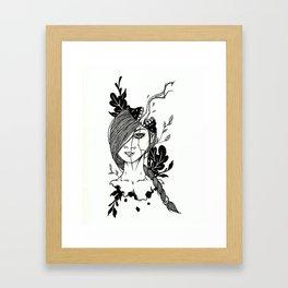 What Am I Thinking Framed Art Print