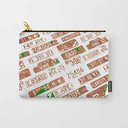Car plates Carry-All Pouch