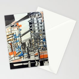London From A Train Stationery Cards