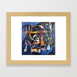 La notte Framed Art Print