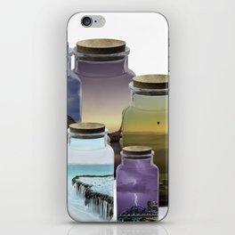 Bottled World iPhone Skin
