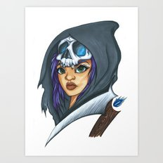 Angel from the Depths Art Print