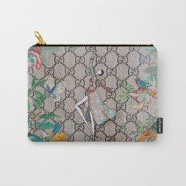 FloralGucci Carry-All Pouch