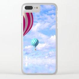 Cute Ballons Clear iPhone Case