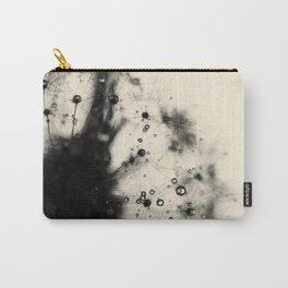 dandelion black Carry-All Pouch