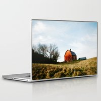 wisconsin Laptop & iPad Skins featuring WISCONSIN FARM by Natural Intuition Photography