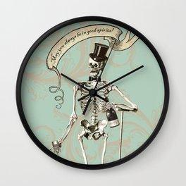 Good Spirits Wall Clock