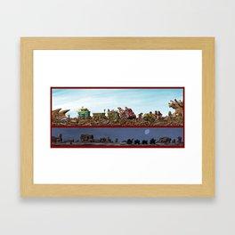 Finders Keepers Framed Art Print